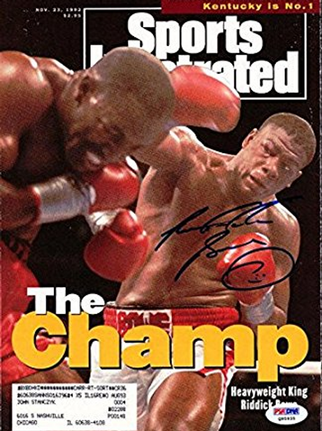 Mag Cover of Bowe and Tyson