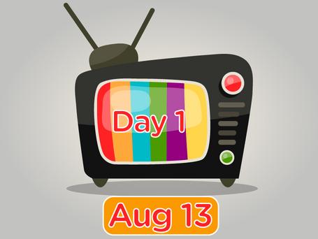 Day 1 TV Stream Match schedule
