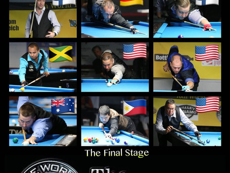 Final Stage: 12 Players Remain at the World Straight Pool Championship