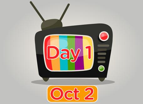 TV Day 1 Oct 2