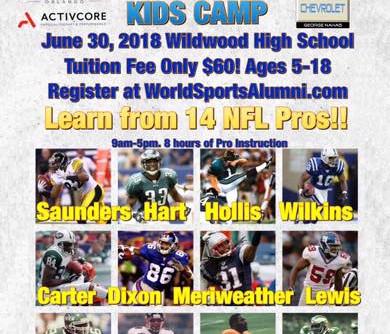 Sullivan Buick GMC 1st Ron Dixon NFL Pros Kids Camp in Wildwood FL