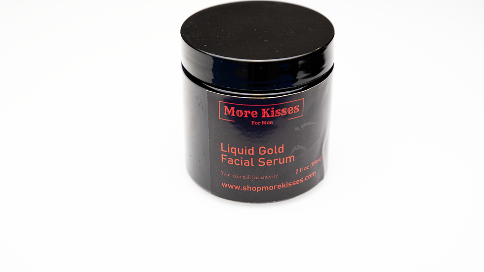 More Kisses Liquid Gold Facial Serum 2oz