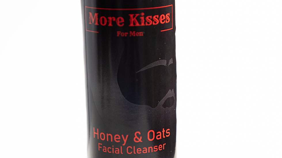 More Kisses Honey & Oats Facial Cleanser 4oz