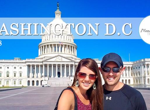 Washington DC Summer Getaway | Travel Vlog