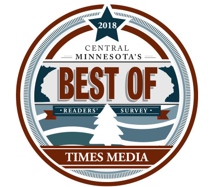 BIG NEWS! We've been nominated for Best of Central MN!