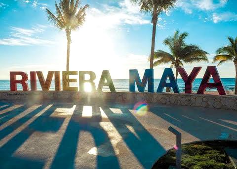 Riviera Maya Sign