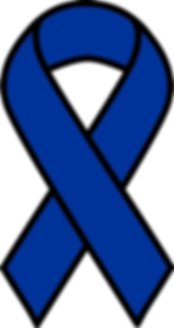Colon Cancer Ribbon Clip Art 17.png