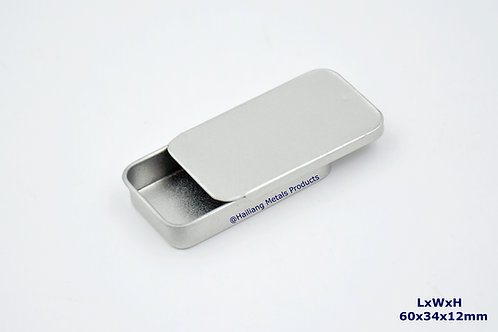 Mini Pale Slidable Tin Case