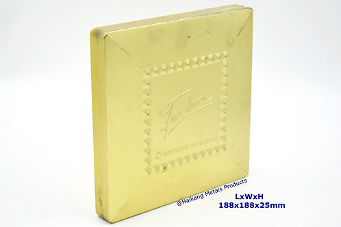 Customize Embossed Chocolate Tin Box