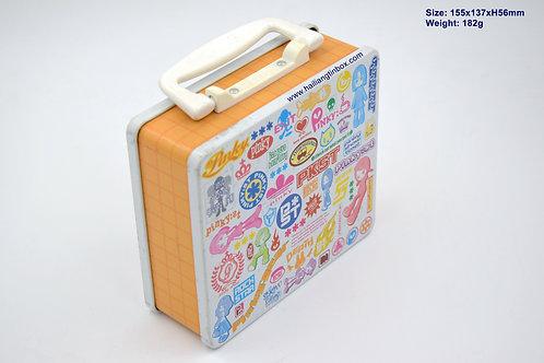 手提、便携式马口铁盒