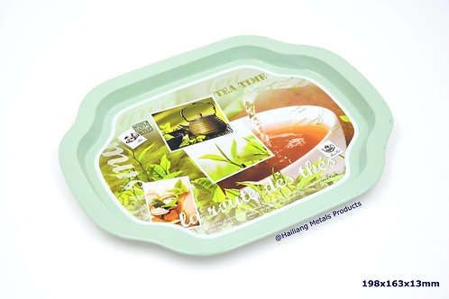 Small Cute, Unique Shape Tea Tray
