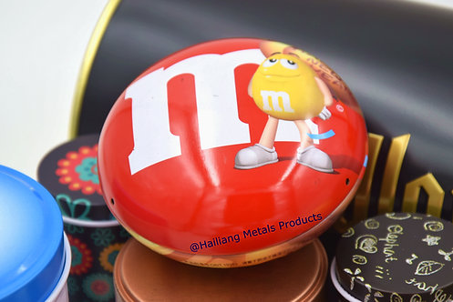 Mini M&M Chocolate Tin Box