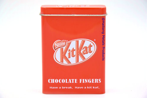 Kit Kat Chocolate Fingers Embossed Packaging