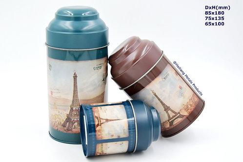 巴黎铁塔圆套罐