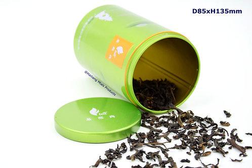 中国风茶叶圆罐