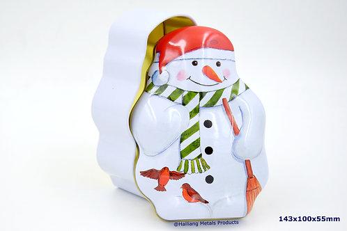 卡通雪人圣诞礼品盒