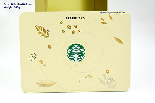 Matte Gold Starbucks Giftbox