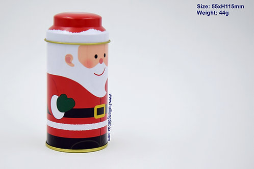 Mini Santa Container with Lid