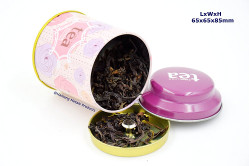 Mini Tea Tin with Lid