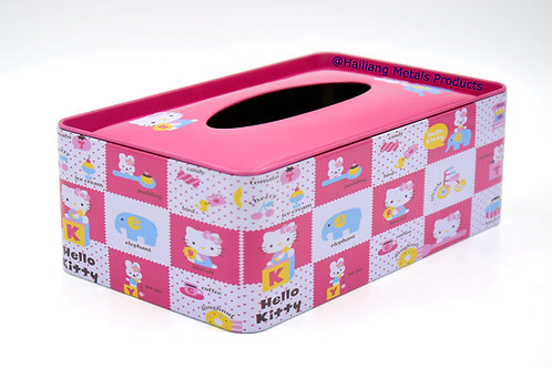 Hello Kitty Tissue Box with Lids