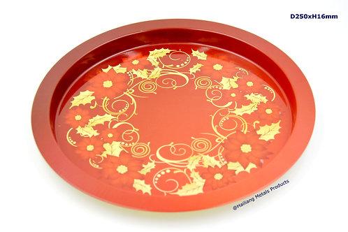 Christmas Food Tin Tray, Decorative Tray