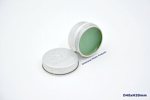 Small Cosmetic Packaging Aluminum Round Case