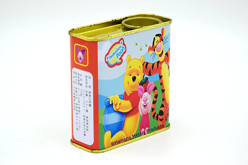 Winnie the Pooh Candy Storage Tin Container