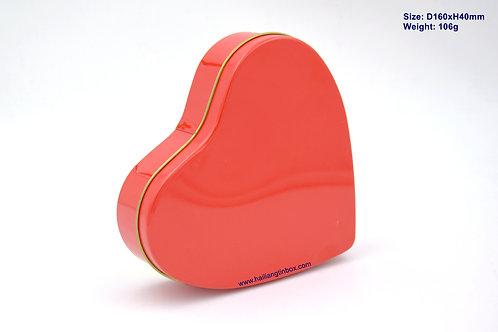 专色心形礼品盒
