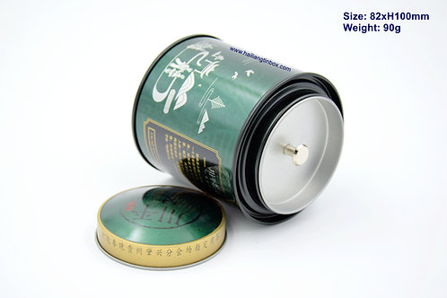 Chinese Element Tea Tin