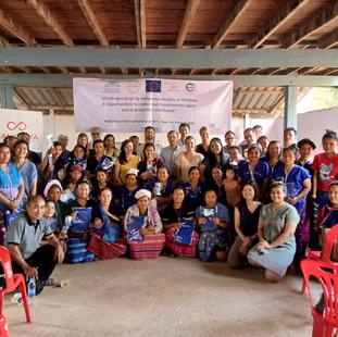 Joint-EU Field Visit to Indigenous Communities
