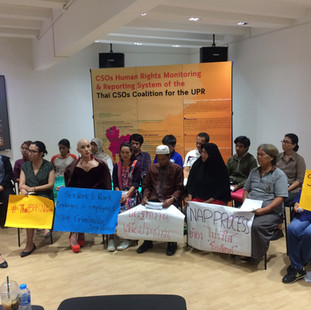 """Press Conference, """"Community Voices: We are not quiet, You are just not listening"""""""