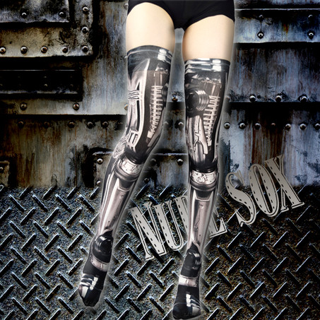 MDN-003 Mad Science knee high socks<機械/Machine>