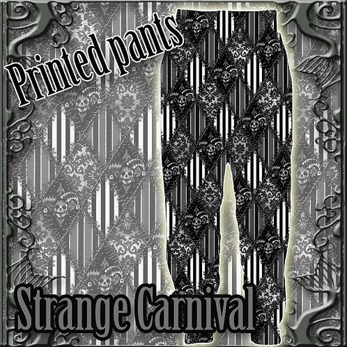 Strange Carnival プリントスウェットパンツ