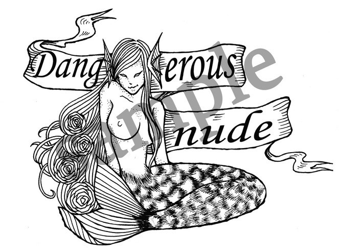 dangerousnudeロゴ