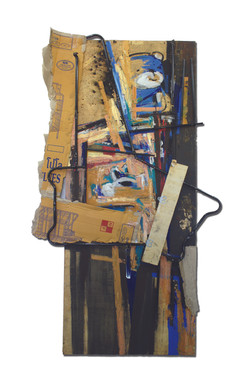 Inspiration from Three Closets No.2, 2011, acrylic, oil, wood,  and metal on wood panel , 200 x 120