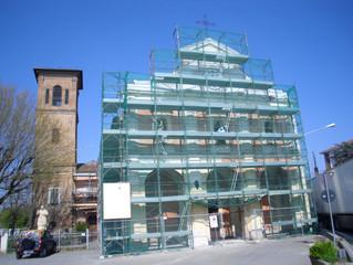 Restauro pittorico Santuario B.V.M.della Fossetta NOVELLARA (RE)
