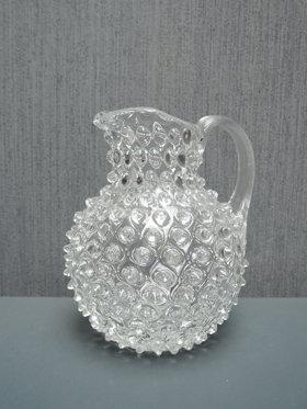 Petite carafe verre de Bohême