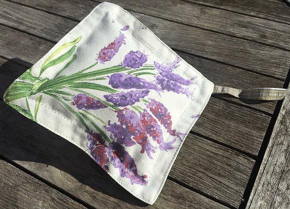 Sachet de lavande de Provence, dessin lavande