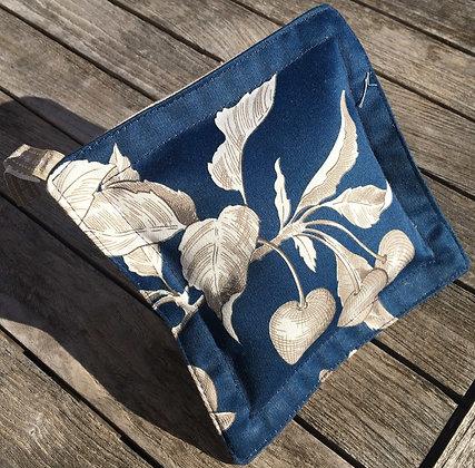 Sachet de lavande de Provence, dessin cerises bleues