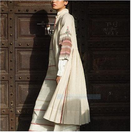 Robe manteau naturel