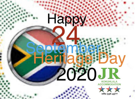 HAPPY HERITAGE DAY...
