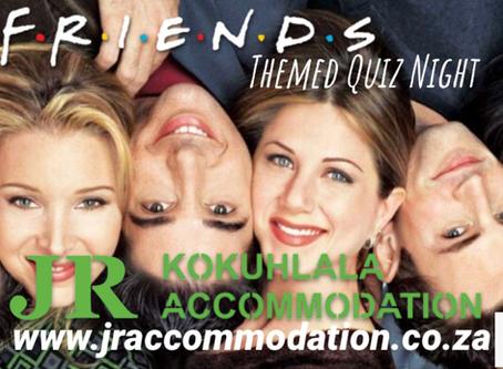 Online Friends Themed Quiz Night via Zoom