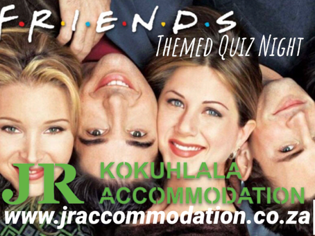 Online Friends Themed Quiz Night via Zoom