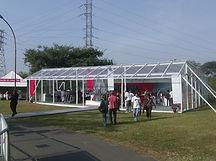 Locação de tendas e coberturas para eventos