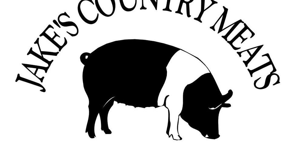 Jake's Bulk Ground Pork 1lb PREORDER for pickup Sept 29