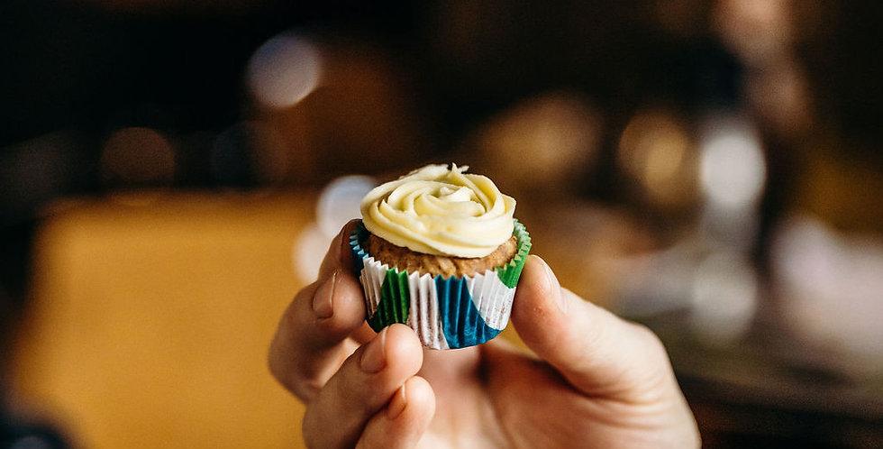 Mini Cupcakes (vegan)