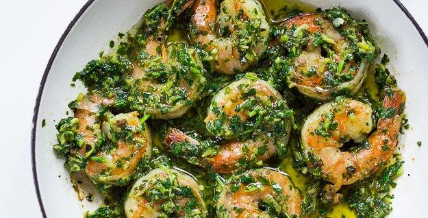 Shrimp Alla Chimicurri