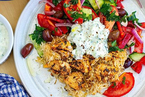 Organic Greek Chicken & Tzadski