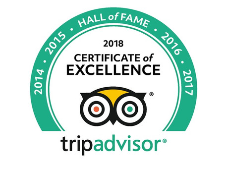 TripAdvisor Hall Of Fame Award for Daylesford Wine Tours
