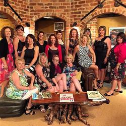 The ladies at Herbal Lore Liqueurs _daylesfordwinetours